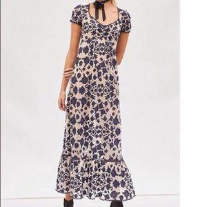 For Love & Lemons Blue Maxi Dress